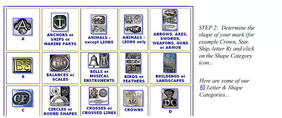 Identify Jewelry Silver Or Metalware Makers Marks And